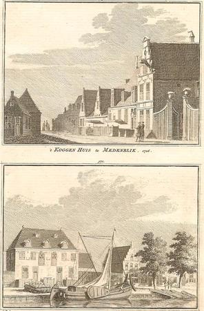 Medemblik. Koggenhuis en Admiraliteitshuis.
