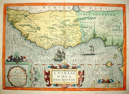 West-Afrika. Guinea (gebied)