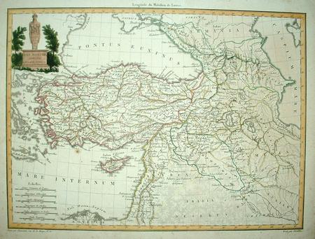 Klein Azië (Turkije). Cyprus. Syrië. Heilige Land.