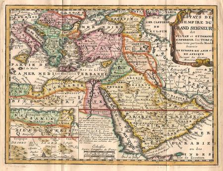 Turkse Rijk. Midden-Oosten.