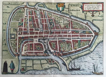 Rotterdam. Bird's-eye view