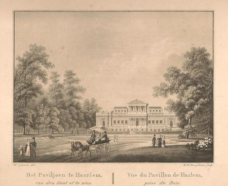 Haarlem, Paviljoen te Haarlem