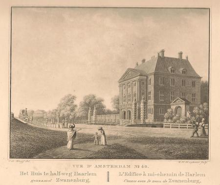 Halfweg, huis Zwanenburg