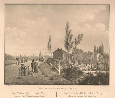 Amsterdam. Spaarndammerdijk. Land en Yzigt.