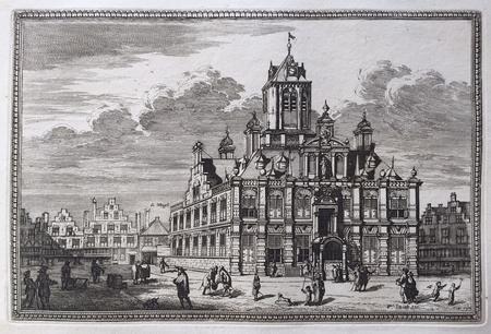 Delft. Stadhuis.