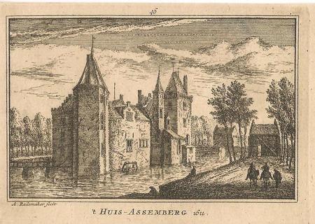 Heemskerk. Huis Assemberg.