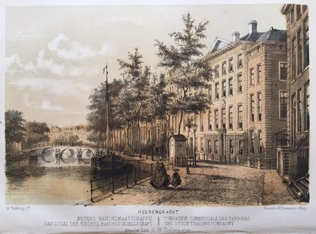 Amsterdam. Herengracht. Nederlandsche Handel-Maatschappij.