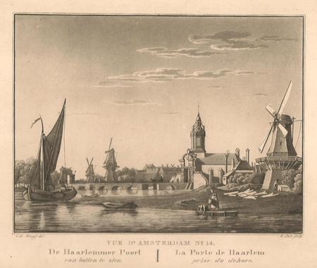 Amsterdam. Haarlemmerpoort. Singelgracht.