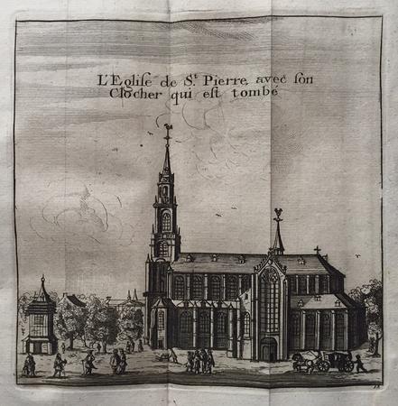 Leiden. Pieterskerk