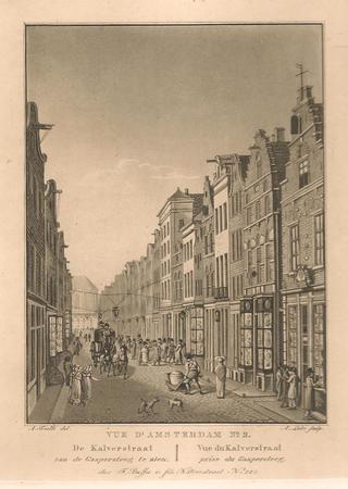 Amsterdam. Kalverstraat.