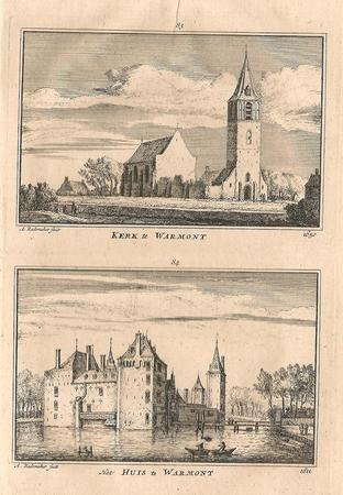 Warmond. Kerk en Huis.
