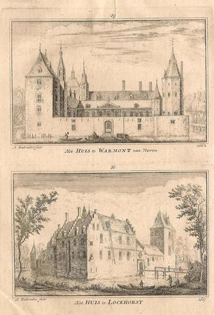 Warmond. Huis te Warmond en Oud Teylingen.