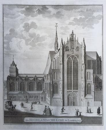 Leiden. Hooglandse kerk.