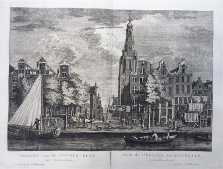 Amsterdam. Zuiderkerk. Raamgracht.