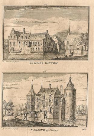 Heusden, Huis te Hinten / Kasteel Sansoye.