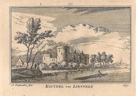 Groot - Ammers, Kasteel Liesveld.
