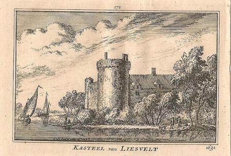 Groot - Ammers Kasteel, Liesveld.