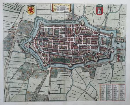 ALKMAAR. Stadsplattegrond.
