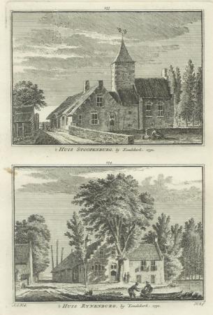 KOUDEKERK A/D RIJN. Stoopenburg en Rijnenburg.