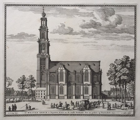 Amsterdam. Westerkerk.