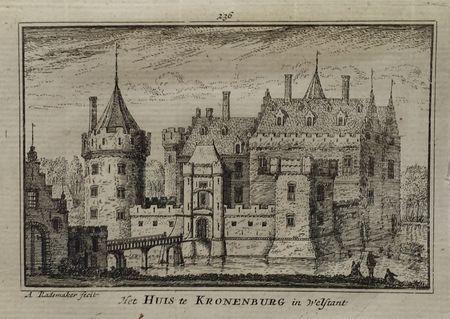 Breukelen. Castle Kronenburg.
