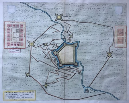Groenlo. Siege of 1597