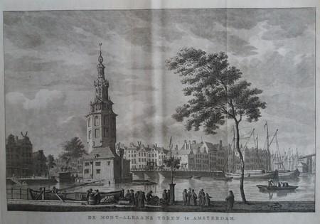 Amsterdam. De Mont-Albaans Toren te Amsterdam