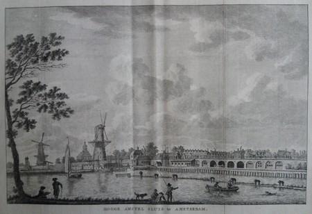 Amsterdam. Hogesluis seen from the Weesperzijde