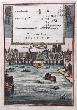 France. Paris. Pont Neuf.