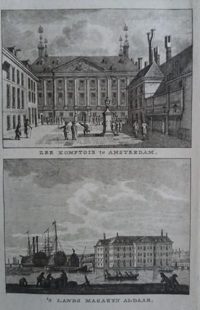 Amsterdam, Prinsenhof en 's- Lands Zeemagazijn