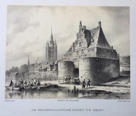 Delft. Waterslootse Poort.