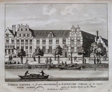 Amsterdam. Latin School