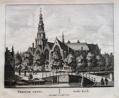 Amsterdam. Oude Kerk