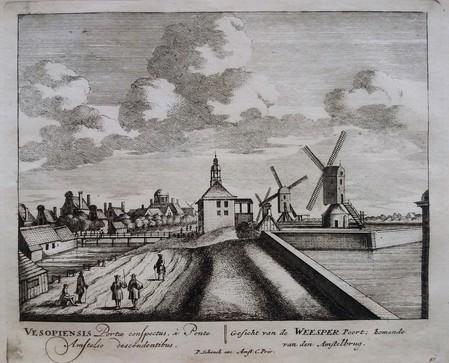 Amsterdam. Weesperpoort.