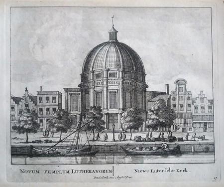Amsterdam. Singel. Nieuwe Lutherse Kerk.