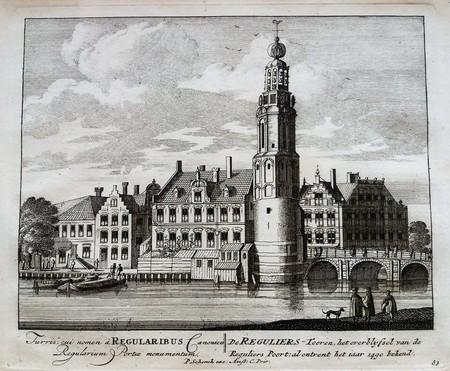Amsterdam. Munttoren.