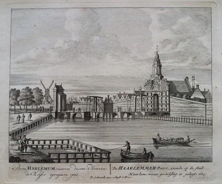 Amsterdam. Haarlemmerpoort.