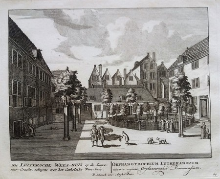 Amsterdam.Lauriersgracht. Luthers Weeshuis.