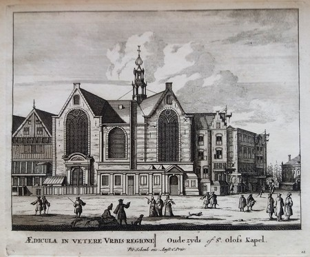 Amsterdam. Sint Olofskapel.