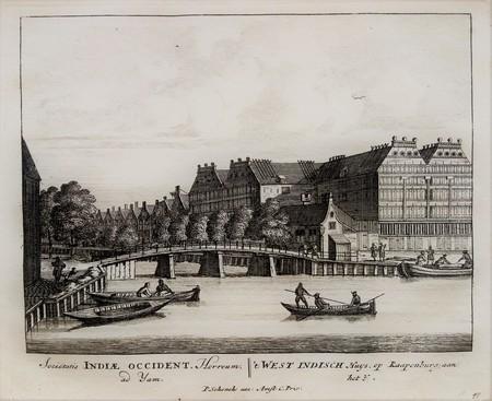 Amsterdam. Lijnbaansgracht / Brouwersgracht. Staats Artillerie- en Korenhuizen.