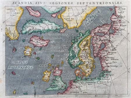 Scandinavië. Groenland.