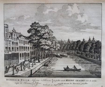 Amsterdam. Herengracht. Van Leliegracht tot Warmoesgracht.