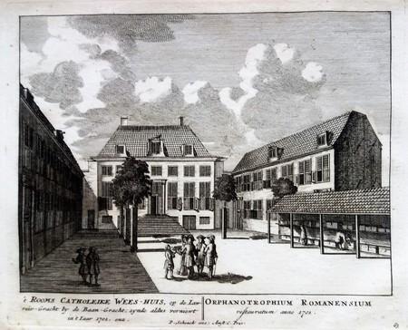 Amsterdam. Lauriergracht. R.K. Weeshuis.