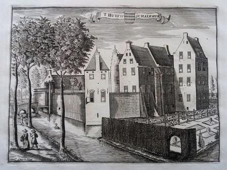 Schalkwijk. Castle Schalkwijk.