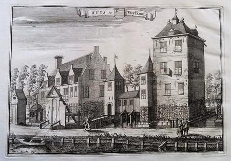 Schalkwijk. Vuylcoop Castle.