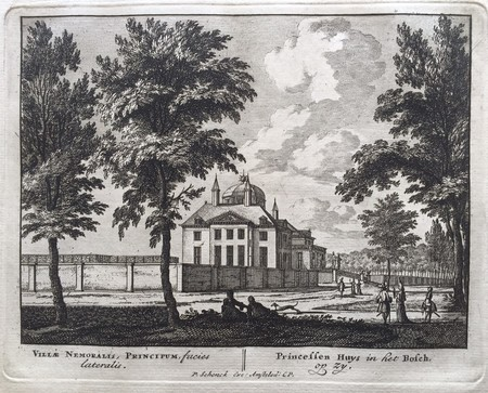 Den Haag. Royal Palace Huis ten Bosch.