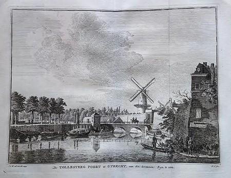 Utrecht. Tolsteegpoort.