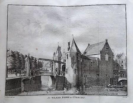 Utrecht. Waardpoort.