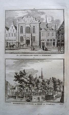 Utrecht. Lutherse Kerk. Hieronymuskerk.