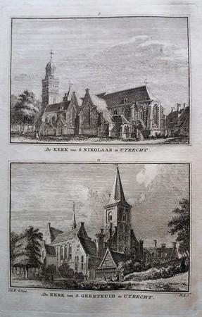 Utrecht. Nicolaïkerk. Geertekerk.